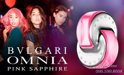 nước hoa Bvlgari Omnia Pink Sapphire EDT