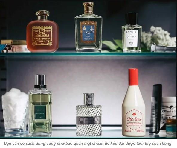 Cách bảo quản nước hoa namVersac Pour Homme EDT