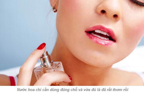 Cách sử dụng nước hoa thơm lâu