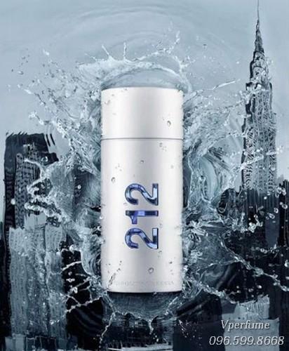 Thiết kế chai nước hoa 212 Men NYC EDT