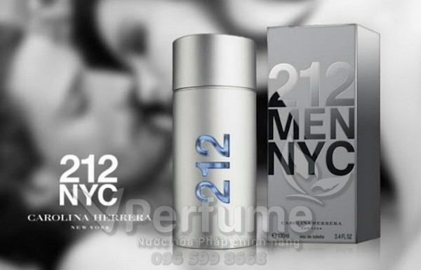 Nuoc hoa Carolina Herrera 212 Men NYC EDT