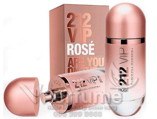 Thiet ke nuoc hoa Carolina Herrera 212 VIP Rose EDP