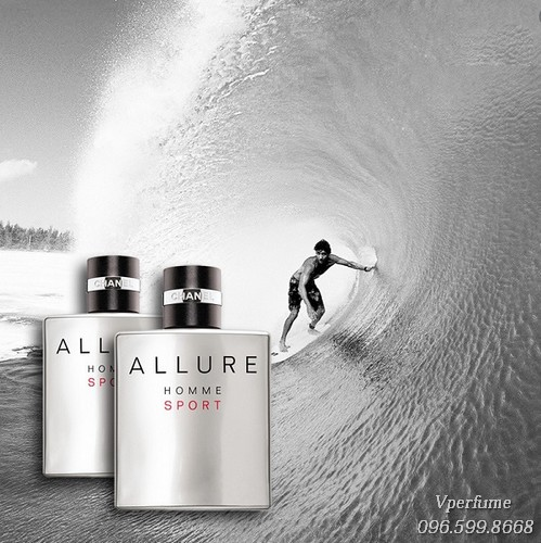 Chanel Allure Homme Sport thể thao, thanh lịch và quyến rũ