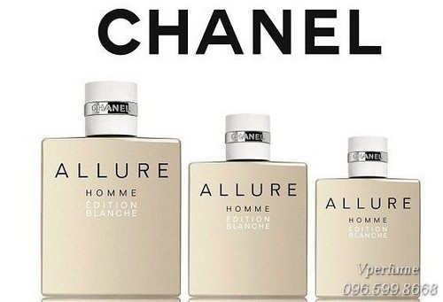 nước hoa nam Allure Homme Edition Blanche EDT