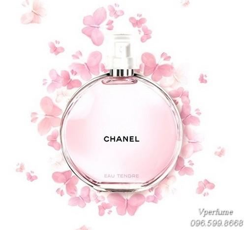 Thiết kế chai nước hoa Chanel Chance Eau Tendre EDT