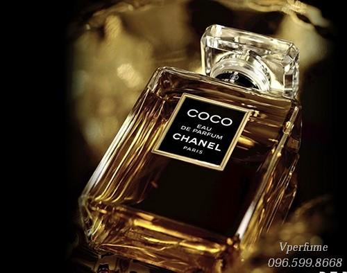 hiết kế chai nước hoa Chanel Coco EDP