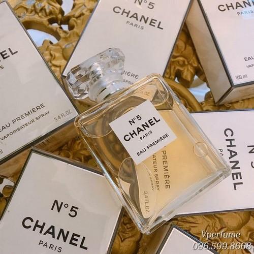 Thiết kế chai nước hoa Chanel No.5 Eau Premiere EDP