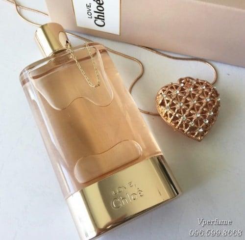 Thiết kế chai nước hoa nữChloe Love EDP