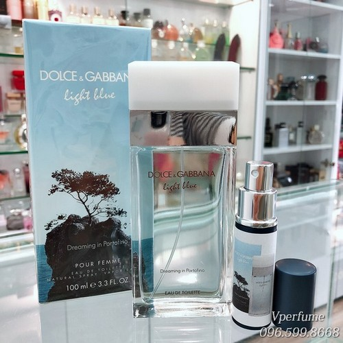 Bảo quản nước hoa D&G Light Blue Dreaming in Portofino EDT