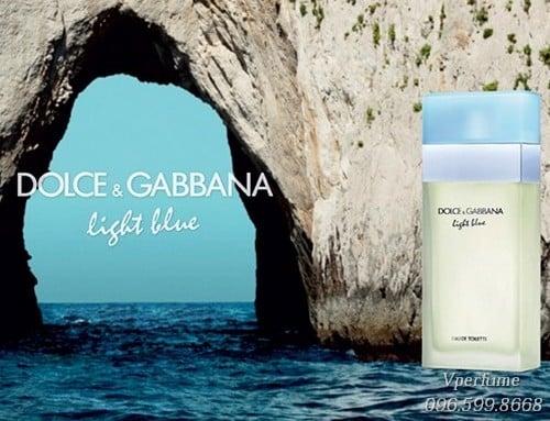 nước hoa nữD&G Light Blue EDT