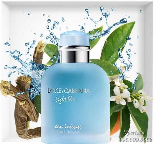 Mô tả mùi hương D&G Light Blue Pour Home Intense EDP