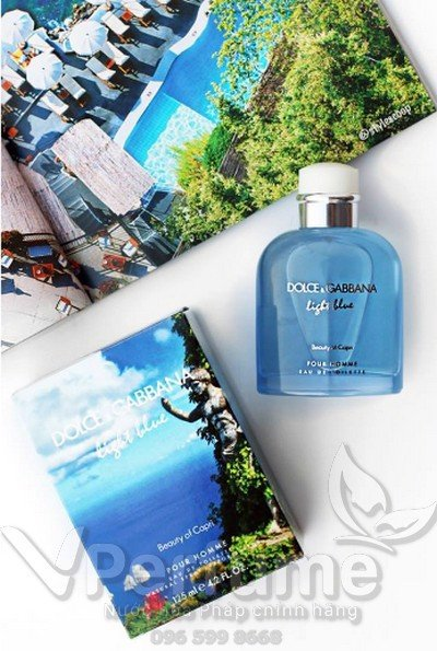 Thiet ke nuoc hoa nam D&G Light Blue beauty of Capri EDT