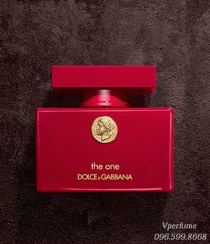 Thiết kế chai nước hoa D&G The One Collector