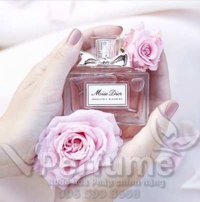 Thiet ke nuoc hoa Dior Miss Absolutely Blooming EDP
