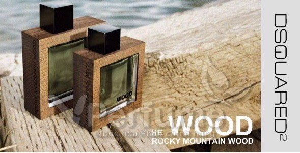 Nuoc hoa nam Dsquared² He Wood Rocky Mountain Wood EDT