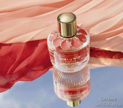 Thiết kế chai nước hoa Elie Saab Girl of Now Forever EDP