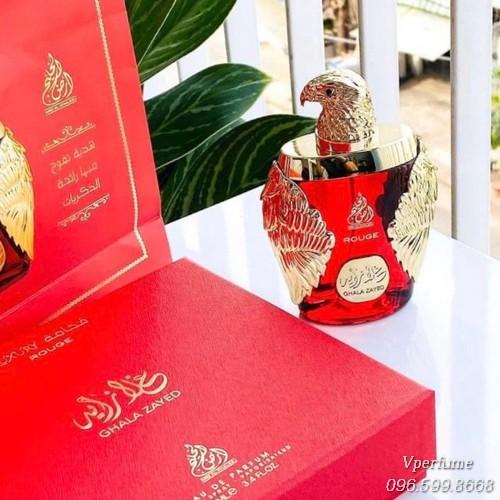 Mô tả mùi hươngGhala Zayed Rouge EDP