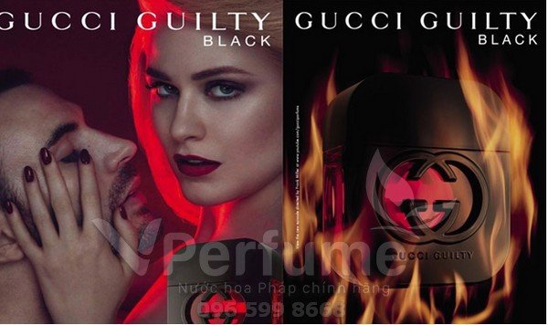 Nuoc hoa nu Gucci Guilty Black EDT
