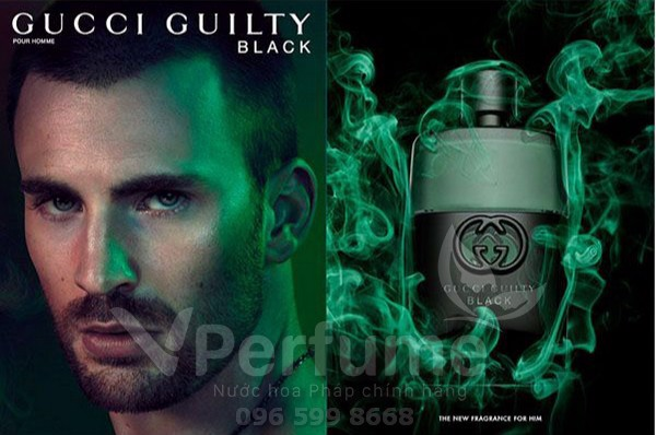 Nuoc hoa nam Gucci Guilty Black Pour Homme EDT