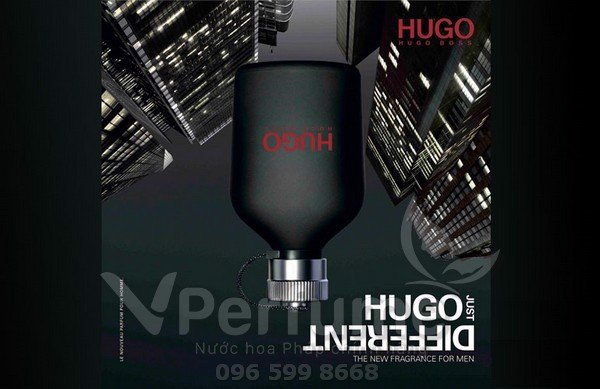Thiet ke nuoc hoa Hugo Boss Just Different EDT