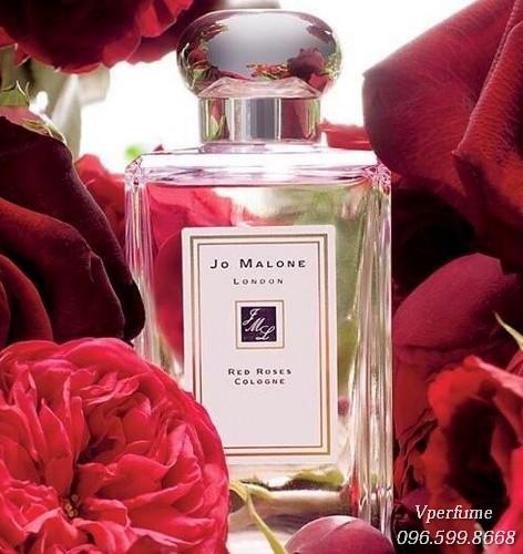 Đánh giá mùi hươngJo Malone Red Roses.