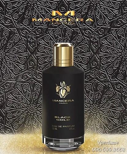 Nước hoaMancera Black Gold