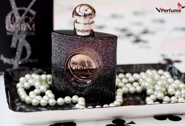 Nuoc hoa YSL Black Opium Black Nuit Blanche