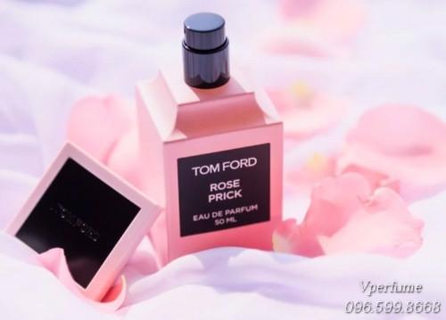 Thiết kế chai nước hoaTom Ford Rose Prick EDP