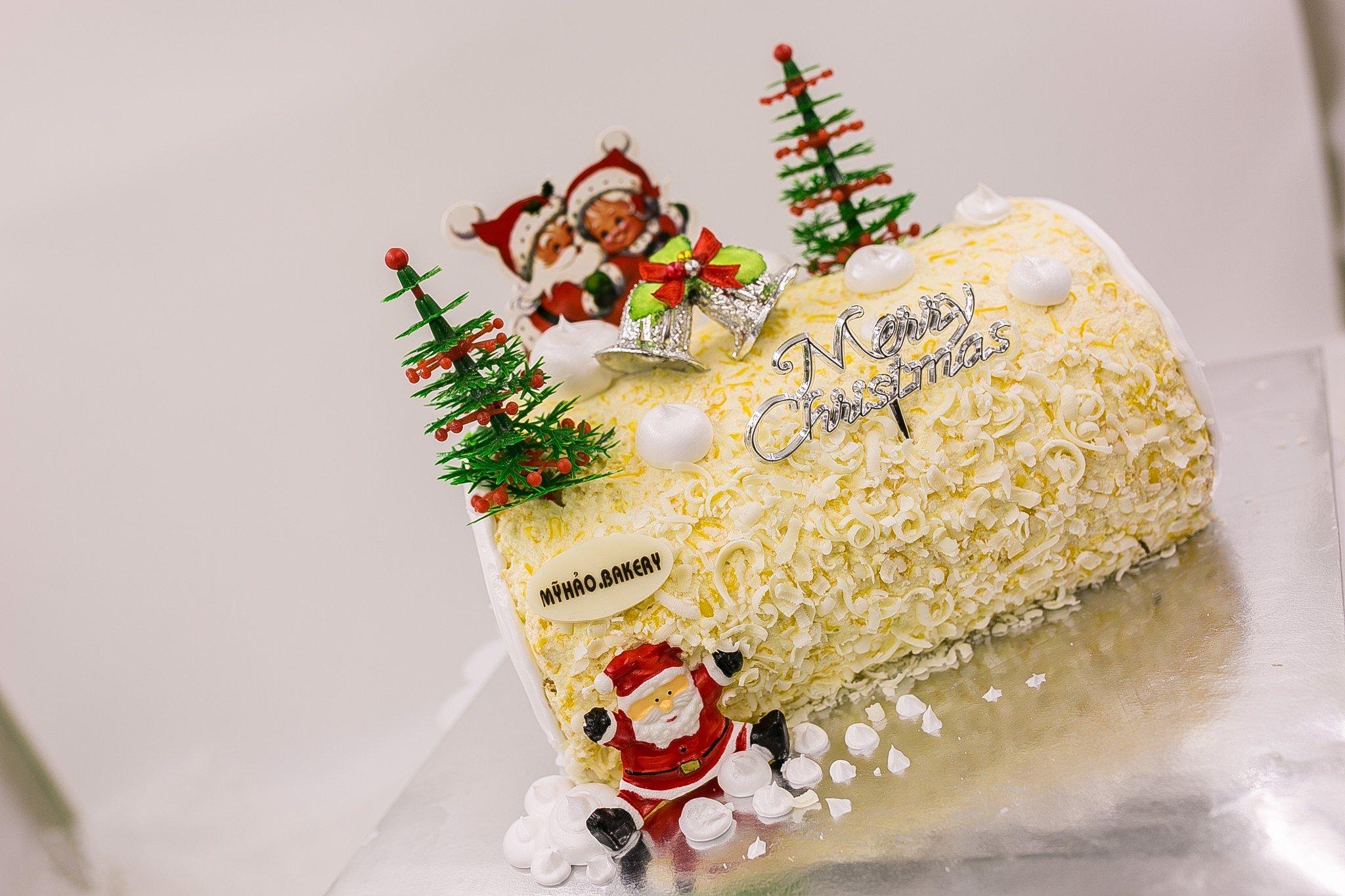 Bánh Kem bắp Noel
