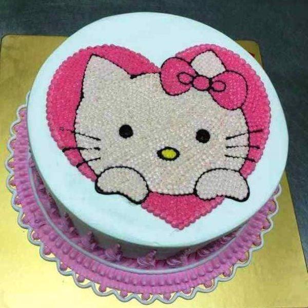 bánh kem mèo Hello Kitty
