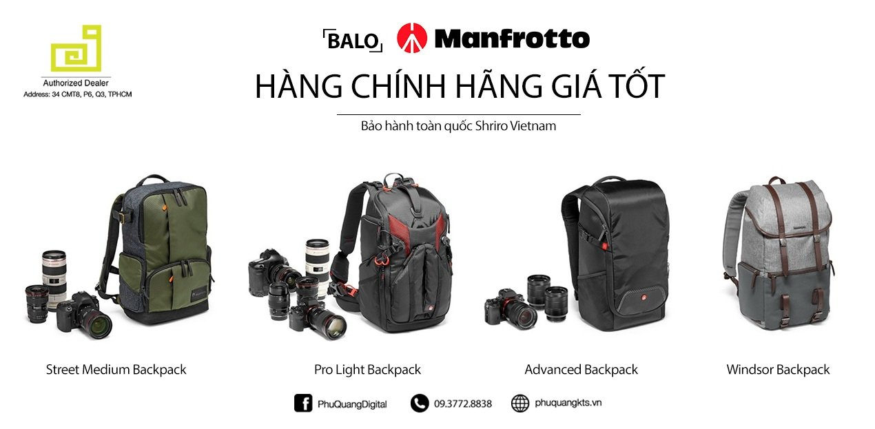 Balo Manfrotto