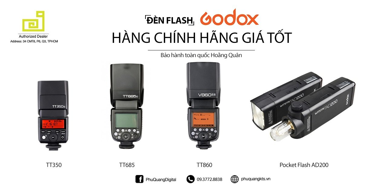 Đèn Flash Godox