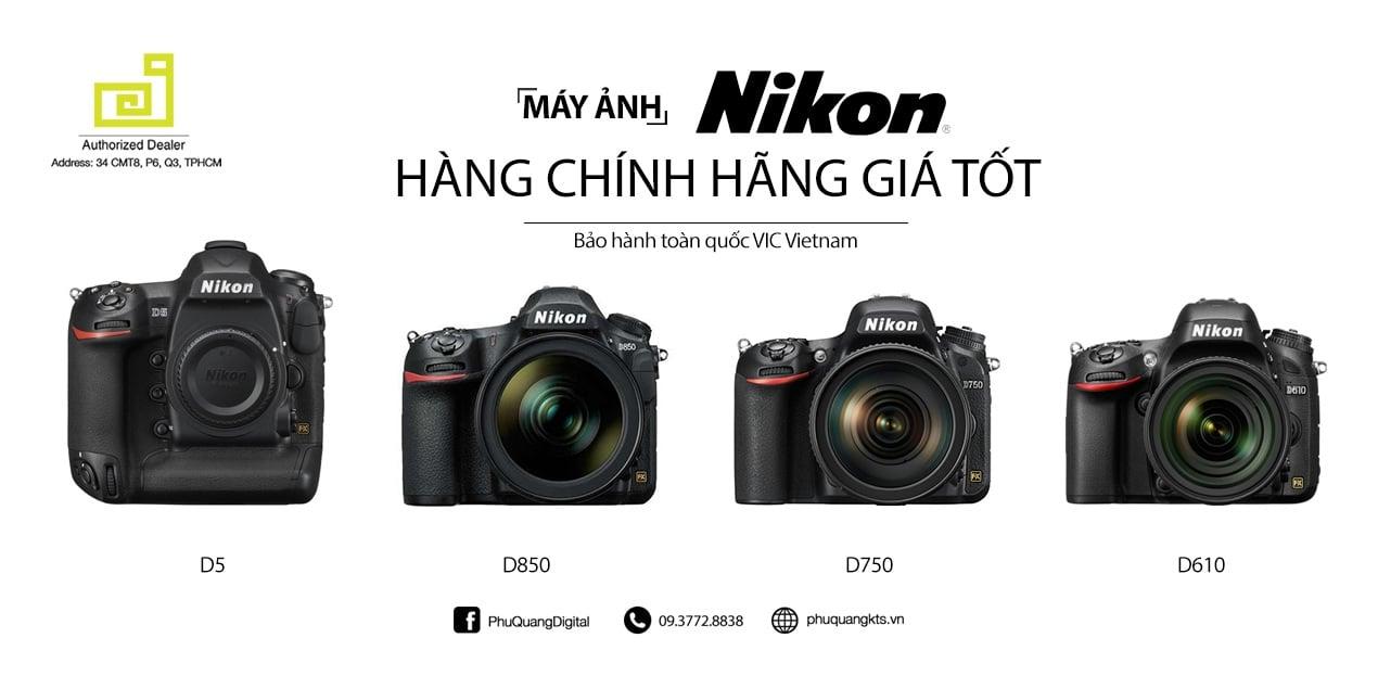 Máy ảnh chuyên nghiệp Nikon SLR