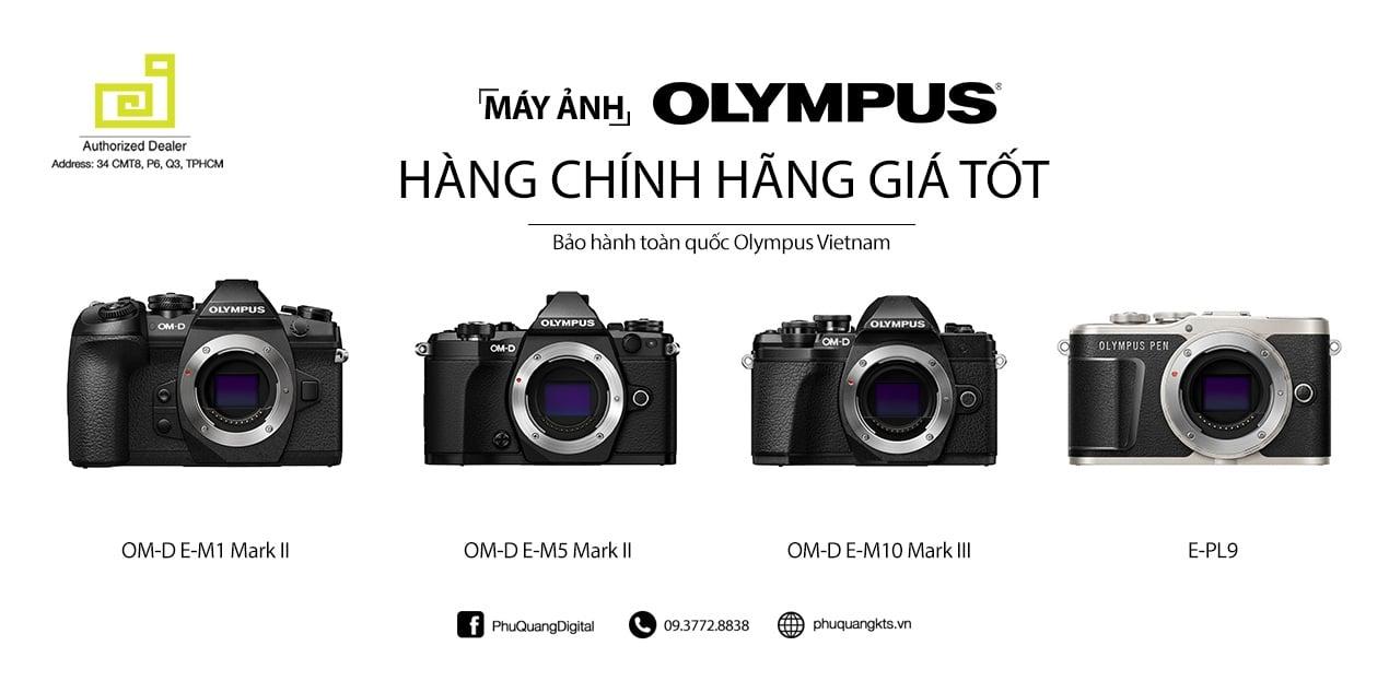 Máy ảnh chuyên nghiệp Olympus