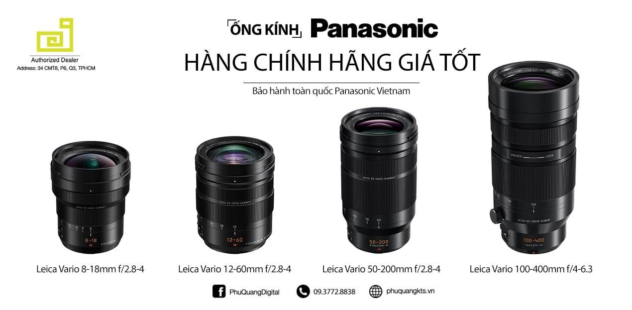 Ống kính Panasonic
