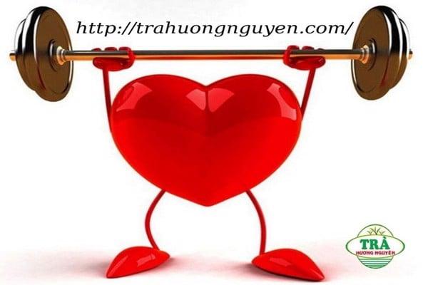 trà xanh Thái Nguyên bảo vệ tim