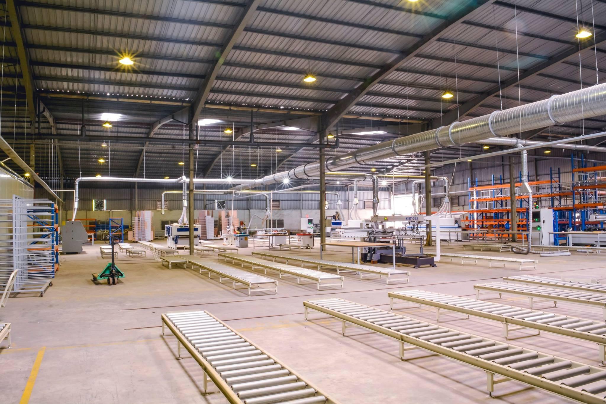 xưởng sản xuất quy mô nhỏ long an