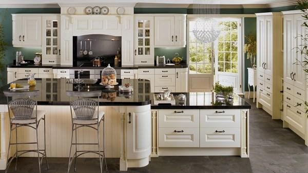 Top 10 mẫu tủ bếp tân cổ điển sang trọng đang lên ngôi 2020