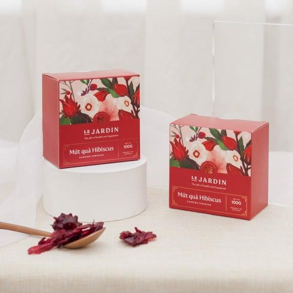 mứt hibiscus 100g