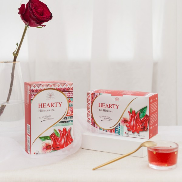 trà nhúng hibiscus
