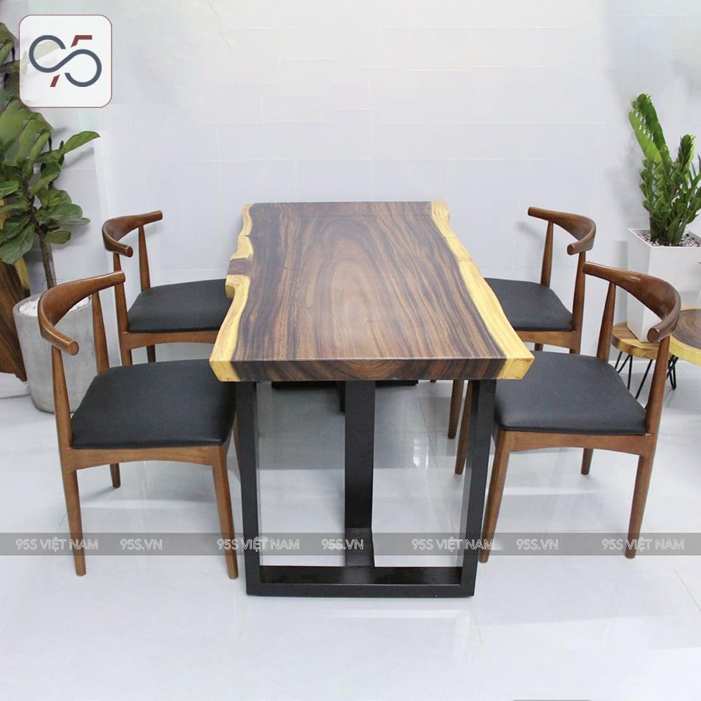 Bộ-bàn-ăn-gỗ-me-tây-nguyên-tấm-4-ghế-bull-gỗ-hà-nội