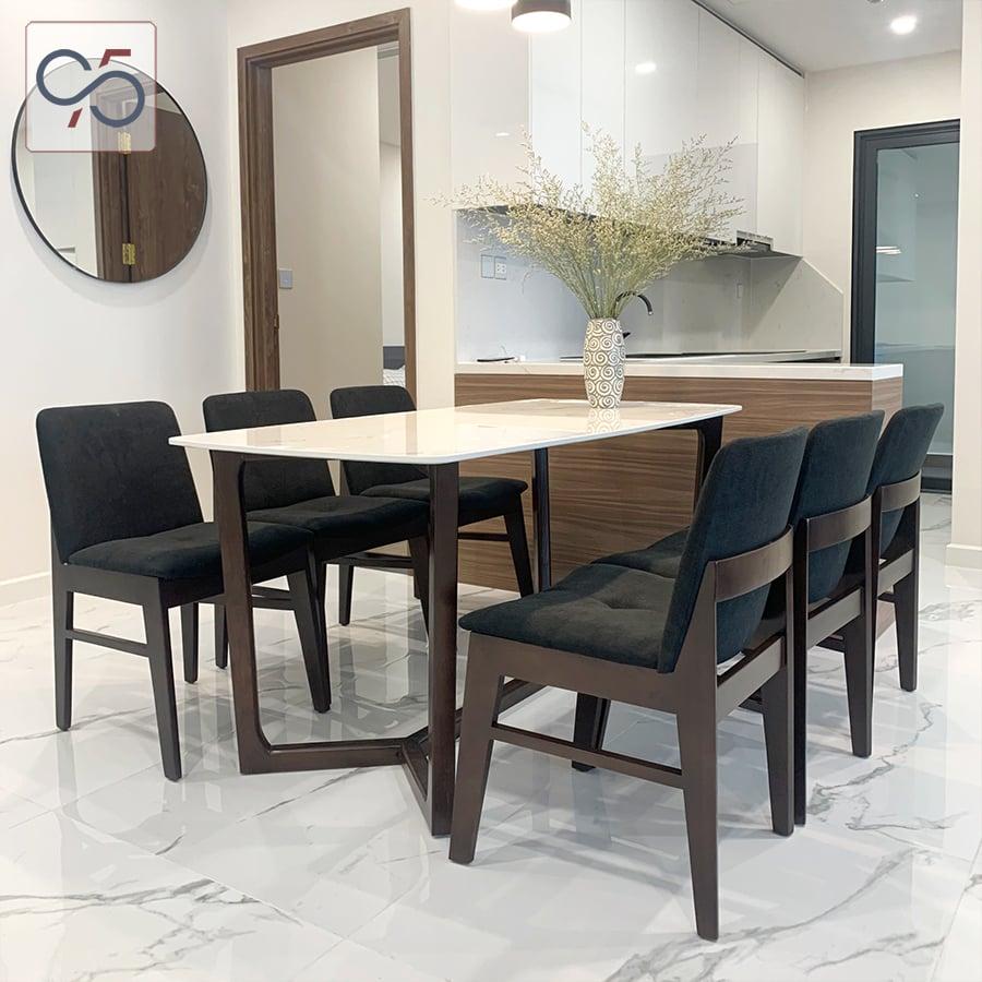 Bộ-bàn-ăn-mặt-đá-CONCORDE-6-ghế-gỗ-KUDO