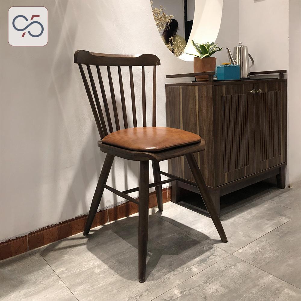 Ghế-ăn-cafe-Pinnstol-gỗ-tự-nhiên-mặt-ngồi-nệm