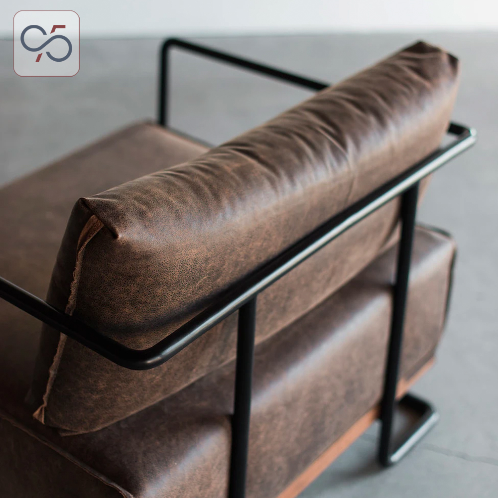 sofa-đơn-colin-armchair-bọc-da-khung-chân-sắt