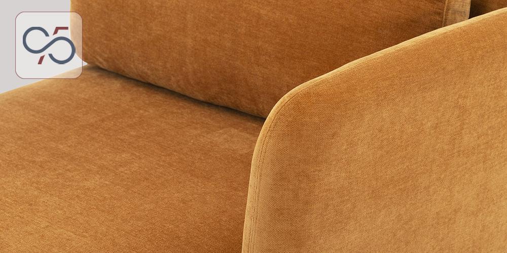 Sofa-modular-mô-đun-Avoca-bọc-nỉ-cam-chân-sắt