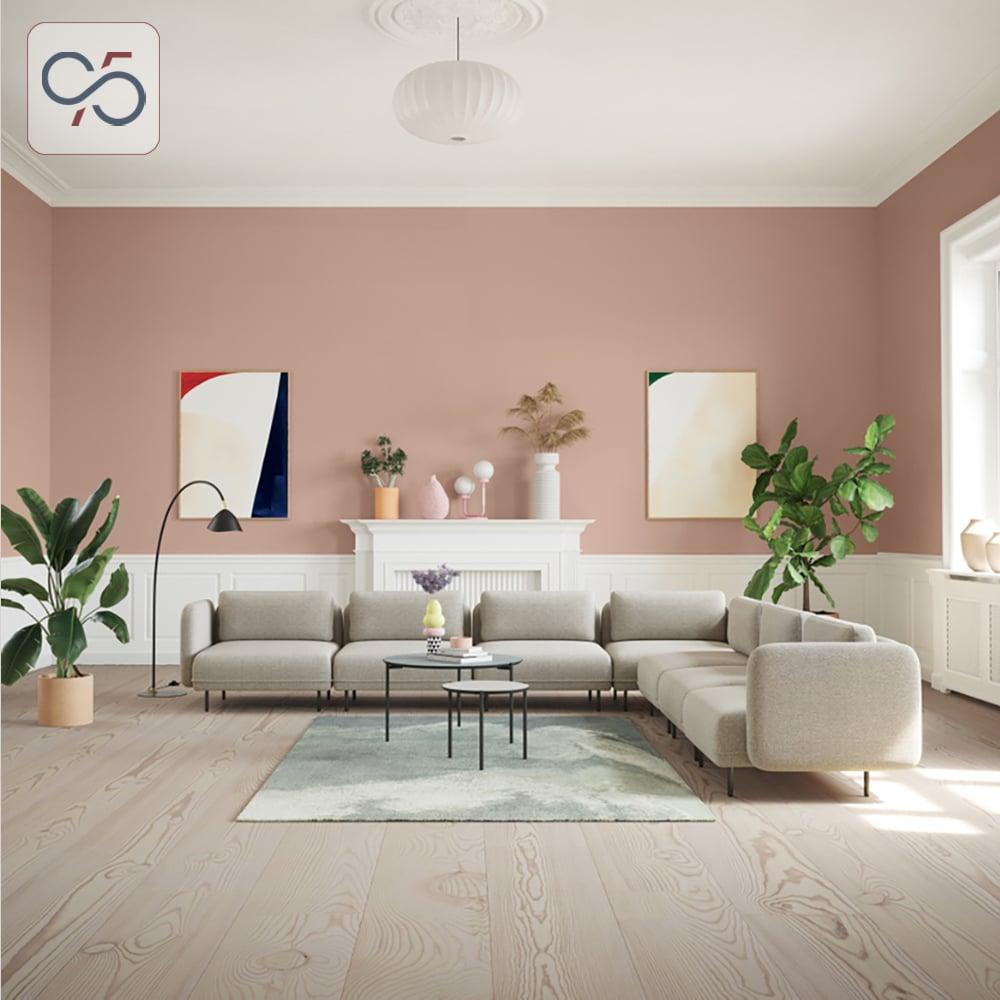 Sofa-modular-mô-đun-Avoca-bọc-nỉ-ghi-chân-sắt