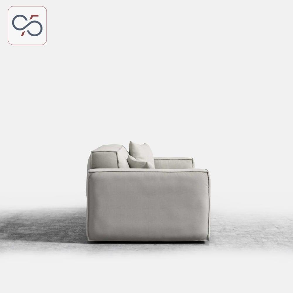 Sofa-văng-modular-Porter-bọc-vải-nỉ-phong-cách-ý-italia