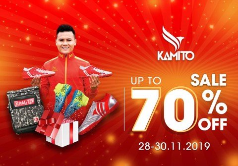 BLACK FRIDAY - KAMITO SALE SHOCK LÊN TỚI 70%