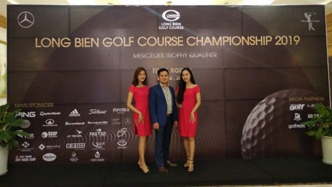 "TMS TRADING THAM GIA TÀI TRỢ GIẢI GOLF ""LONG BIEN GOLF COURSE GOLF COURSE CHAMPIONSHIP 2019"""