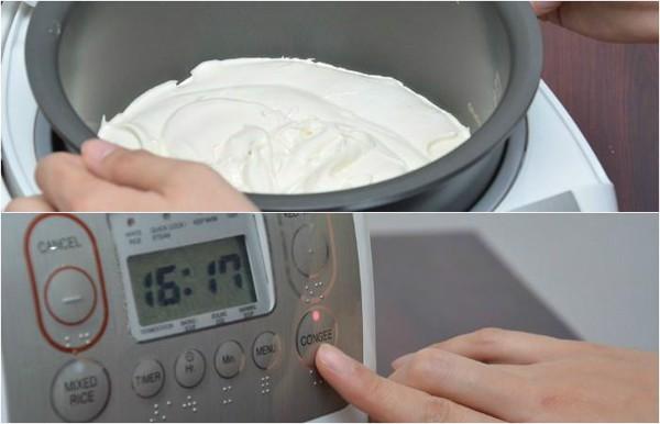 cách làm bánh bông lan nướng